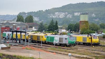 Lineup at Rouen Depot 12 September 2015