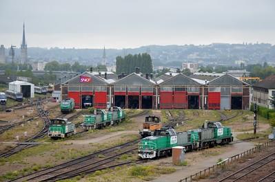 Overview of Rouen Depot 12 September 2015