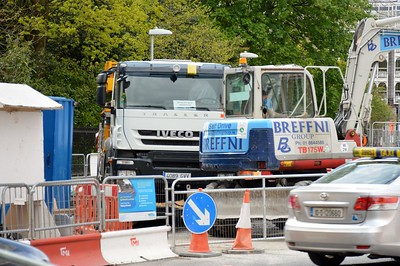 Luas works on St Stephens Green 4 May 2016
