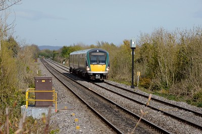 22250 approaches Ashtown 4 May 2016