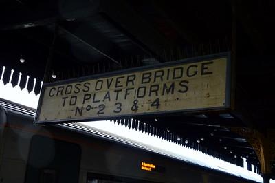 Station signage at Claremorris 19 November 2015